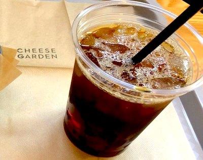チーズガーデン那須本店カフェメニュー_アイスコーヒー