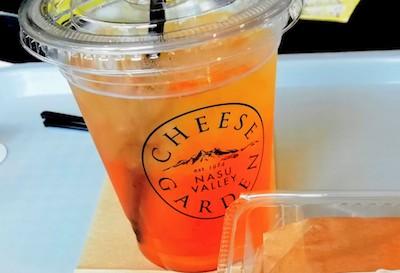 チーズガーデン那須本店カフェメニュー_アイスティー